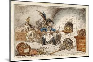 Napoleon the Gingerbread Baker Creating New Kings, a Comment by James Gillray