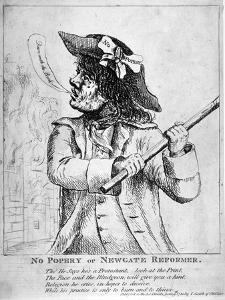 No Popery or Newgate Reformer ..., 1780 by James Gillray