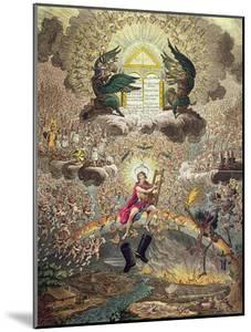 The Apotheosis of Hoche, Published by Hannah Humphrey in 1798 by James Gillray