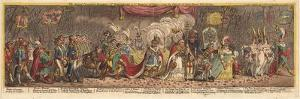 The Grand Coronation Procession of Napoleon the 1st Emperor of France, 1805 by James Gillray