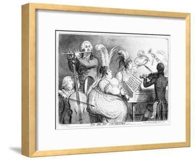 The Pic-Nic Orchestra, James Gilray, 1802