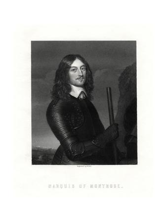 James Graham, 1st Marquess of Montrose, Scottish Nobleman and Soldier, 19th Century-W Holl-Giclee Print
