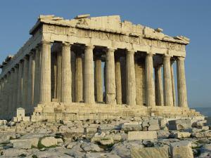 Parthenon, the Acropolis, UNESCO World Heritage Site, Athens, Greece, Europe by James Green