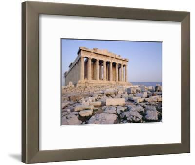 The Parthenon at Sunset, Unesco World Heritage Site, Athens, Greece, Europe