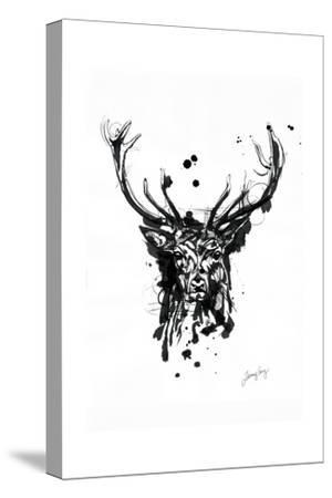 Inked Deer by James Grey