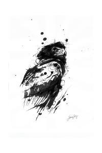 Inked Eagle by James Grey