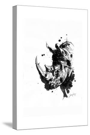 Inked Rhino
