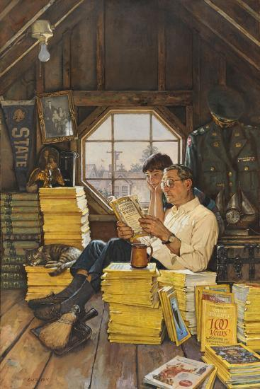 James Gurney Illustrates a Promotion of the One Hundred Years Index-James M. Gurney-Giclee Print