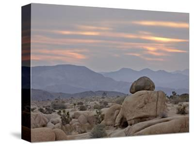 Cloudy Sunrise, Joshua Tree National Park, California, United States of America, North America