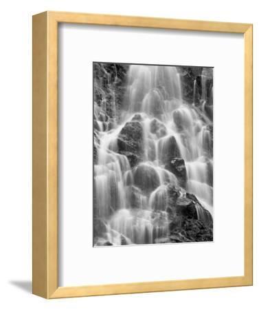 Detail of Horsetail Falls, Near Valdez, Alaska, United States of America, North America