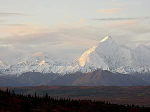 Mount Foraker in the Fall, Denali National Park and Preserve, Alaska, USA by James Hager