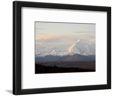 Mount Foraker in the Fall, Denali National Park and Preserve, Alaska, USA