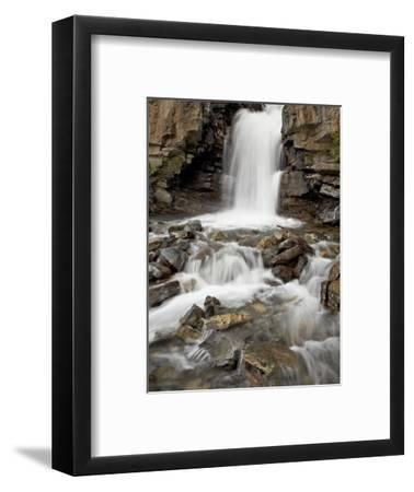 Tangle Falls, Jasper National Park, UNESCO World Heritage Site, Rocky Mountains, Alberta, Canada