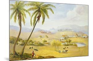 Haughton Court, Hanover, Jamaica, C.1820 (W/C on Paper) by James Hakewill