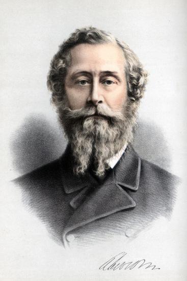 James Hamilton, 1st Duke of Abercorn, British Conservative Politician, C1890-Petter & Galpin Cassell-Giclee Print