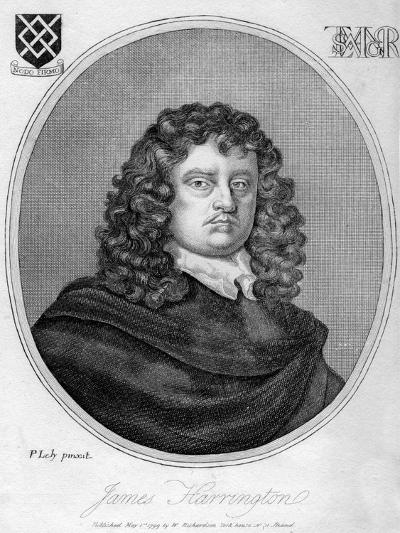 James Harrington, English Political Theorist, 1799-Peter Lely-Giclee Print
