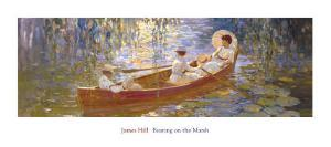 Boating on the Marsh by James Hill