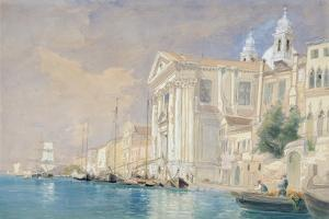 Pd.61-1958 Church of the Gesuati, Venice, 3rd September 1857 (W/C over Pencil on Paper) by James Holland