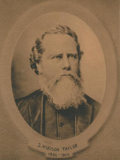 James Hudson Taylor (1832-1905), British Protestant Christian missionary to China, c1910s-Unknown-Giclee Print