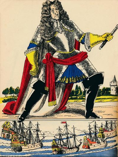 James II, King of Great Britain and Ireland from 1685, (1932)-Rosalind Thornycroft-Giclee Print