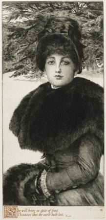 A Winter's Walk, 1880