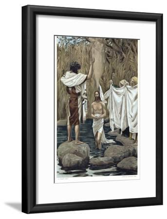 Baptism of Jesus by John the Baptist, C1890