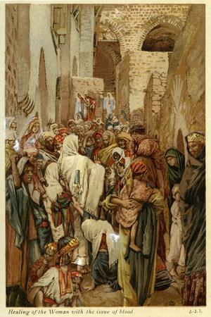 Healing of the woman with the issue of blood - Bible