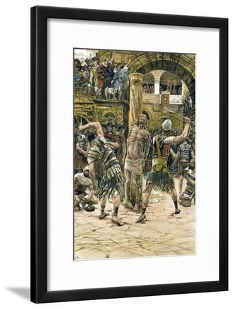 Jesus Scourged on the Face, C1897