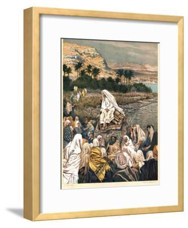 Jesus Teaching on the Sea Shore, C1890