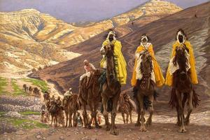 Journey of the Magi, C.1894 by James Jacques Joseph Tissot