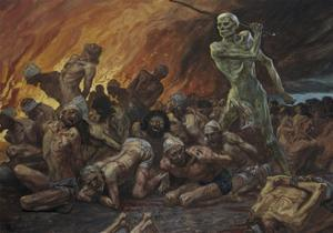 Like Sheep They are Laid in the Grave by James Jacques Joseph Tissot