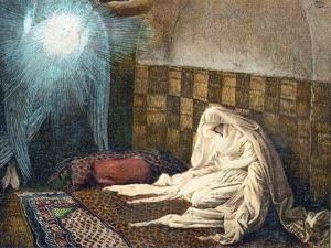 The Annunciation, 1897 by James Jacques Joseph Tissot