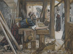 The Anxiety of Saint Joseph from 'The Life of Our Lord Jesus Christ' by James Jacques Joseph Tissot