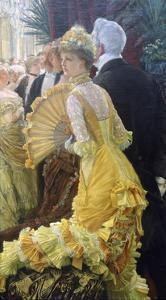 The Ball, C1878 by James Jacques Joseph Tissot