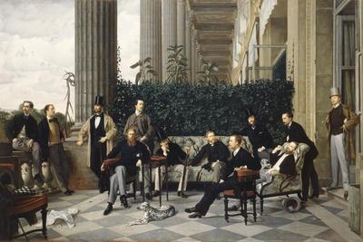 The Circle of the Rue Royale, 1868