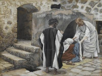 The Healing of Peter's Mother-In-Law from 'The Life of Our Lord Jesus Christ'