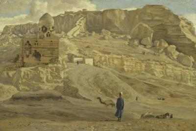 The Mokattam from the Citadel of Cairo from 'The Life of Our Lord Jesus Christ'
