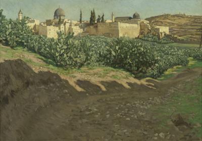 The Southwest Corner of the Esplanade of the Haram