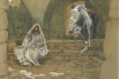 The Woman of Samaria at the Well from 'The Life of Our Lord Jesus Christ'