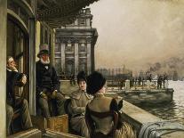 Silence-James Jacques Tissot-Framed Giclee Print