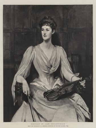 Portrait of Lady Skelmersdale