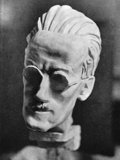 James Joyce, Sava Bronze--Photographic Print