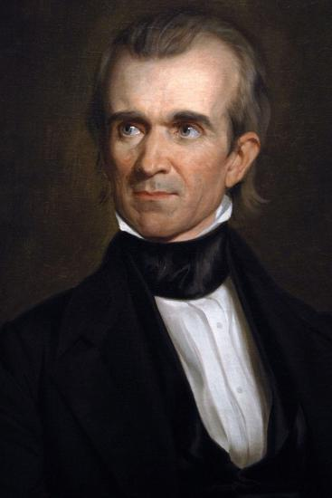 James K. Polk . 11th President of the United States. Washington D.c-George Peter Alexander Healy-Giclee Print