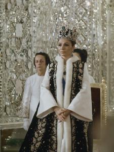 Portrait of Queen Farah Pahlavi Dressed in a Ceremonial Attire, Gulistan Palace, Tehran, Iran by James L. Stanfield