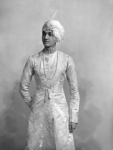 H.H. Maharaja Shri Raj Rajeshwar Narayan Bhup Bahadur by James Lafayette