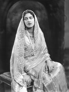 H.H. Rani Shri Amrit Kaur Sahib by James Lafayette