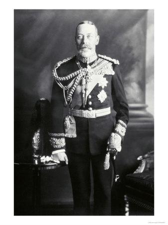 King George V in Uniform