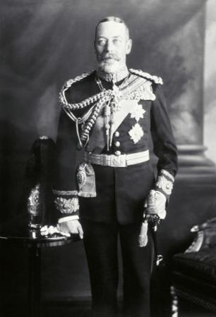 King George V in Uniform by James Lafayette