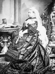 Queen Victoria of England by James Lafayette