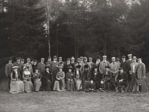 Royal Shooting Party, c.1902 by James Lafayette